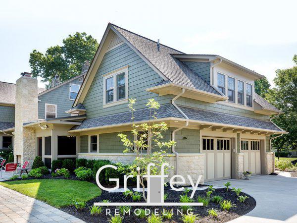 Upper Arlington, Ohio exterior remodel