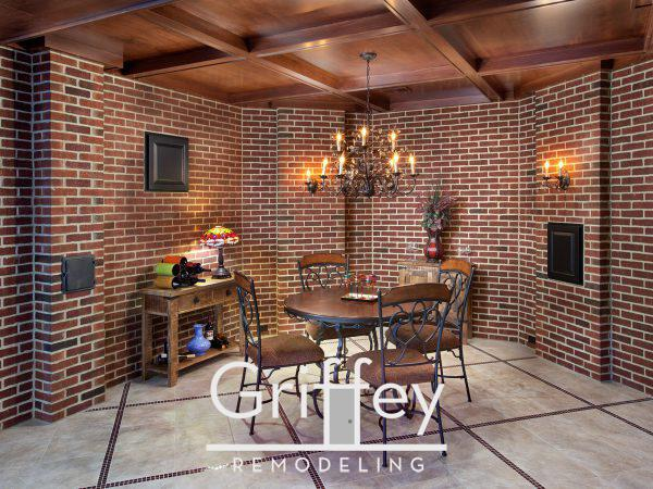 Dublin, Ohio basement remodel