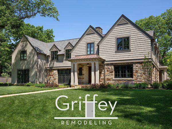 Upper Arlington, Ohio master suite addition. Kitchen, dining room and great room additions.