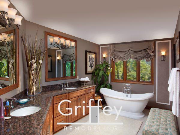 Worthington, Ohio bathroom remodel