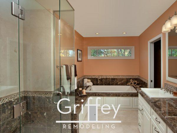Upper Arlington, Ohio bathroom remodel