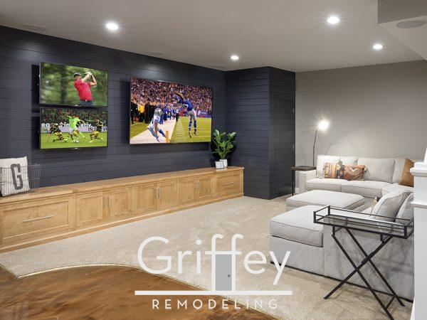 Delaware, Ohio basement remodel